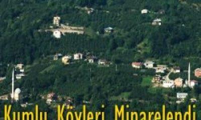 Kumlu Köylerine Minarelerle Gelen değişim