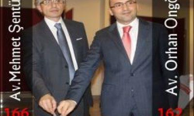 Trabzon Baro Başkanı Mehmet Şentürk Güven Tazeledi