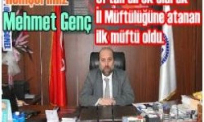 Mehmet Genç Kars İl Müftüsü Oldu