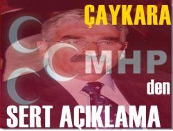 Çaykara MHP'den Açıklama
