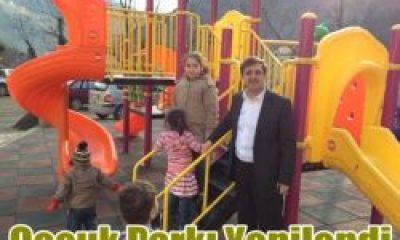 Çocuk Parkı Yenilendi