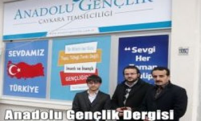Anadolu Gençlik Dergisi Temsilciliği Açıldı