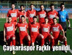 İmkansızlıklar Çaykaraspor'u Yedi Bitirdi