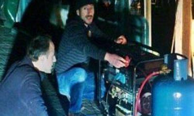 Çaykara'da Kar Geldi Elektrik Gitti