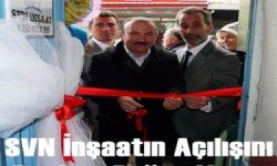 SVN İnşaat İzmit'te Açıldı