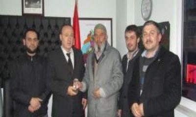 A-li Osman Derneği Emniyet Amirini Ziyaret Etti