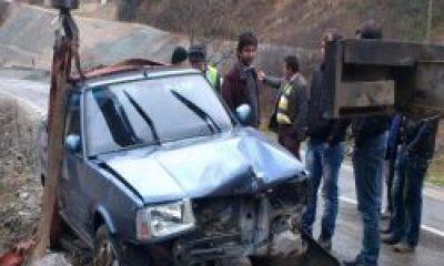 Kabataş Köprüsündeki Kaza Ucuz Atlatıldı