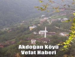 Akdoğan'da Vefat: Arife Saran 1