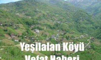 Yeşilalan Köyüden Hüseyin Tekoğlu Vefat Etti