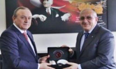 Yahya Baş'tan Vali Kızılcık'a Ziyaret