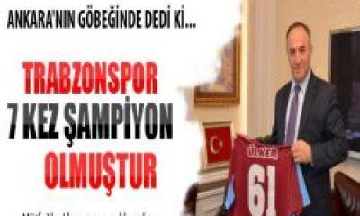 Hacımüftüoğlu: Trabzonspor'un Şampiyonluğu 7'den de Fazla
