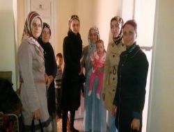 Ak Partili Kadınlardan Ev Ziyareti