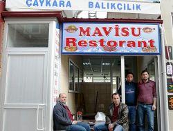 Çaykara'da Mavisu Balık Restoran Açıldı
