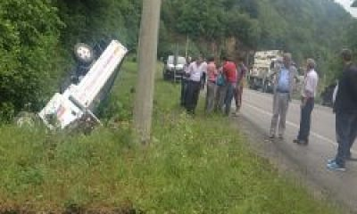 Dernekpazarı Yakınlarında Meydana Gelen Kazada Araçtan Sağlam Çıktılar