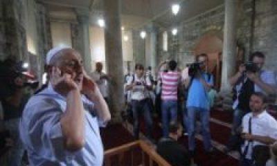 Ayasofya'da 52 Yıl Sonra Yeniden Ezanlar Yükseldi