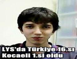 Abdüllatif Köksal Türkiye 16. Kocaeli Birincisi Oldu