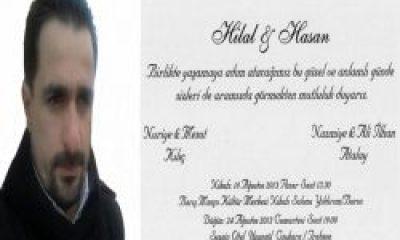 Düğüne Davet: Hasan Atalay Evleniyor