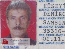 Akdoğan Köyünden Hüseyin Avni Demirci Kalbine Yenik Düştü