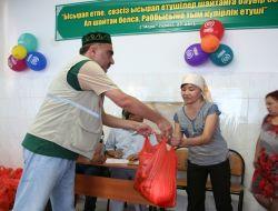 Kazakistan'da Çaykaralı Bir Yardım Eli