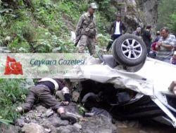 Karaçam Yolunda Kaza Bir Kişi Öldü