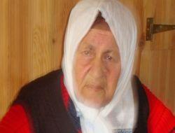 Şahinkaya'da Vefat: Bedire Altuncu 1