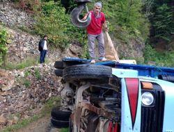 Şahinkaya'da Kaza Ucuz Atlatıldı