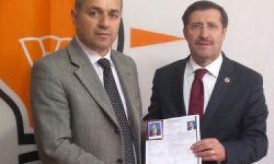 Belediye Başkanı Namık Kemal Gedikoğlu Adaylığını Açıkladı