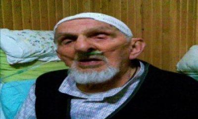 Hasta Yatağında Türkiye İçin Dua Ediyor