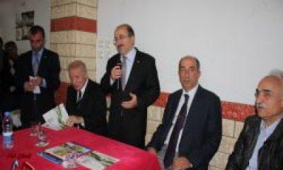 Trabzon Belediye Başkanı Orhan F. Gümrükçüoğlu Dernekpazarı'da
