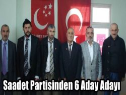 Saadet Partisi Aday Adaylarını Basına Tanıttı