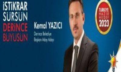 Kemal Yazıcı Ak Parti Derince Belediye başkan aday adayı