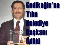 Çaykara Belediye Başkanı Gedikoğlu'na Yılın Başkanı Ödülü