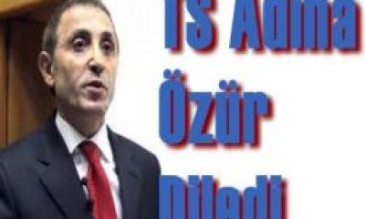 TS Yönetim Kurulu Üyesi Hemşehrimiz Yakup Aslan Özür Diledi