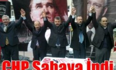 CHP Çaykara'da aday tanıtım toplantısı düzenledi