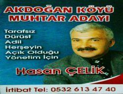 Akdoğan Köyü Muhtar Adayı Hasan Çelik 1