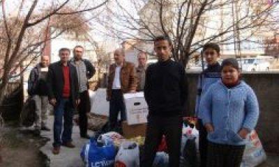 Ankara Çaykaralılardan Suriye'ye Yardım