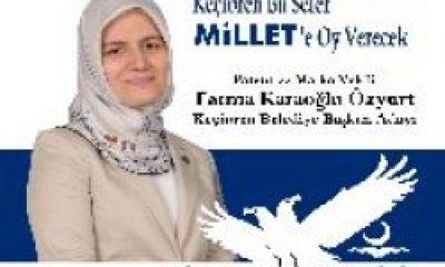 Fatma Karaoğlu Özyurt Keçiören'den Belediye Başkan Adayı