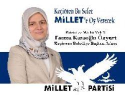 Fatma Karaoğlu Özyurt Keçiören'den Belediye Başkan Adayı 1