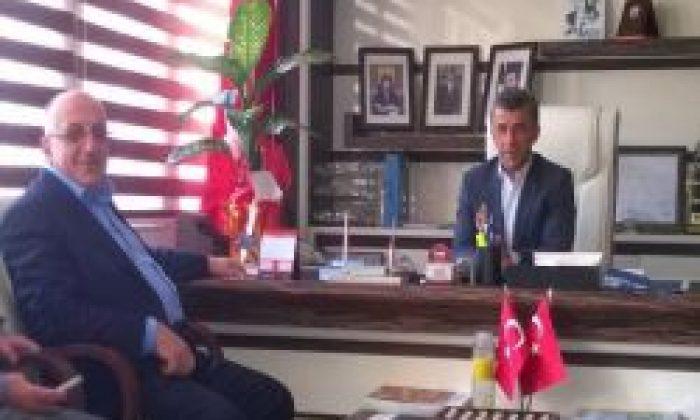 Bakan Yardımcısı Yahya Baş'tan Başkan Hanefi Tok'a Hayırlı Olsun Ziyareti
