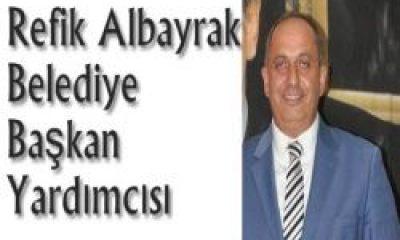 Refik Albayrak Çaykara Belediye Başkan Yardımcısı Oldu