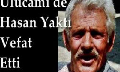 Ulucami'de Yakup Yaktı Vefat Etti