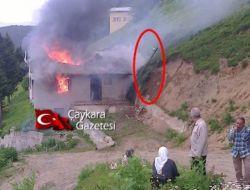 Kama Yaylasında Bir Ev Elektrik Kontağından Yandı