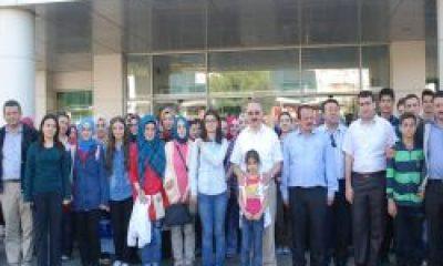 Öğrenciler İstanbul'da