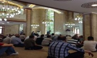 Hurmalık Cami İbadete Açıldı