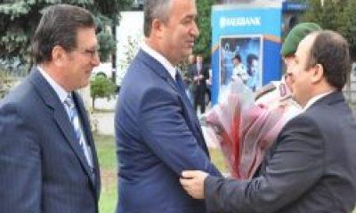 Samsun 19 Mayıs İlçesinin Başkanı da Kaymakamı da Çaykara'dan