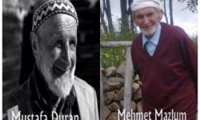 Mustafa Duran ve Mehmet Mazlum Toprağa Verildi