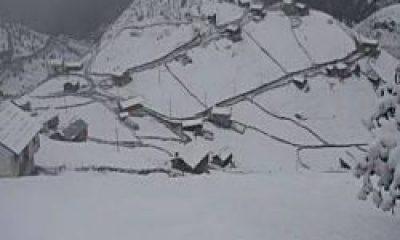 Yaylalar Kar İle Buluştu