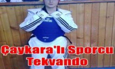 Çaykaralı Genç Sporcu Tekvando Milli Takımında