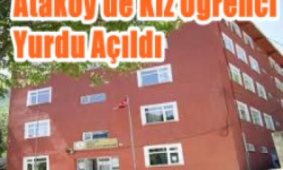 Ataköy'de 120 kişilik kız öğrenci yurdu açıldı