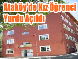 Ataköy'de 120 kişilik kız öğrenci yurdu açıldı 1